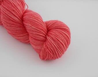 LOVE SOCK,  A croquer !, merino nylon sock yarn,100g