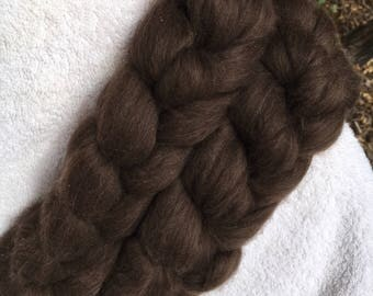 Yak roving for spinning or felting