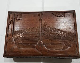 Indian Vintage Wooden Jewellery Box