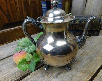 Vintage Sheets R S Co. Silver Plate Teapot