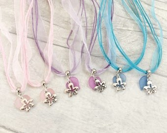 Flower Necklace, Party Bag Filler, Girl Party Favor, Floral Party, Birthday Favors, Party Favors, Loot Bag Filler