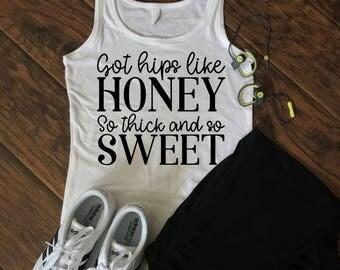 Got Hips Like Honey Tank