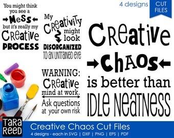 SVG files / Artist Sayings / Creativity Sayings