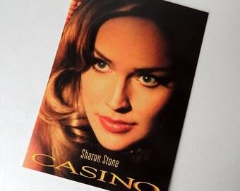 CASINO Sharon Stone Film by Martin Scorsese Postcard