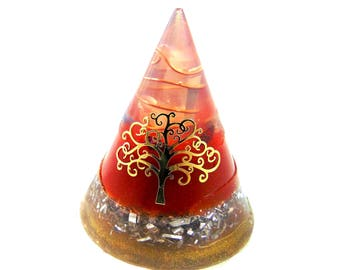 Orgon conical energetic tree of life