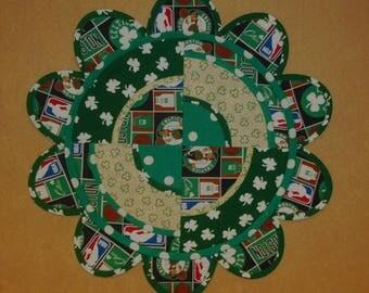 Boston Celtics Table Topper/Shamrocks