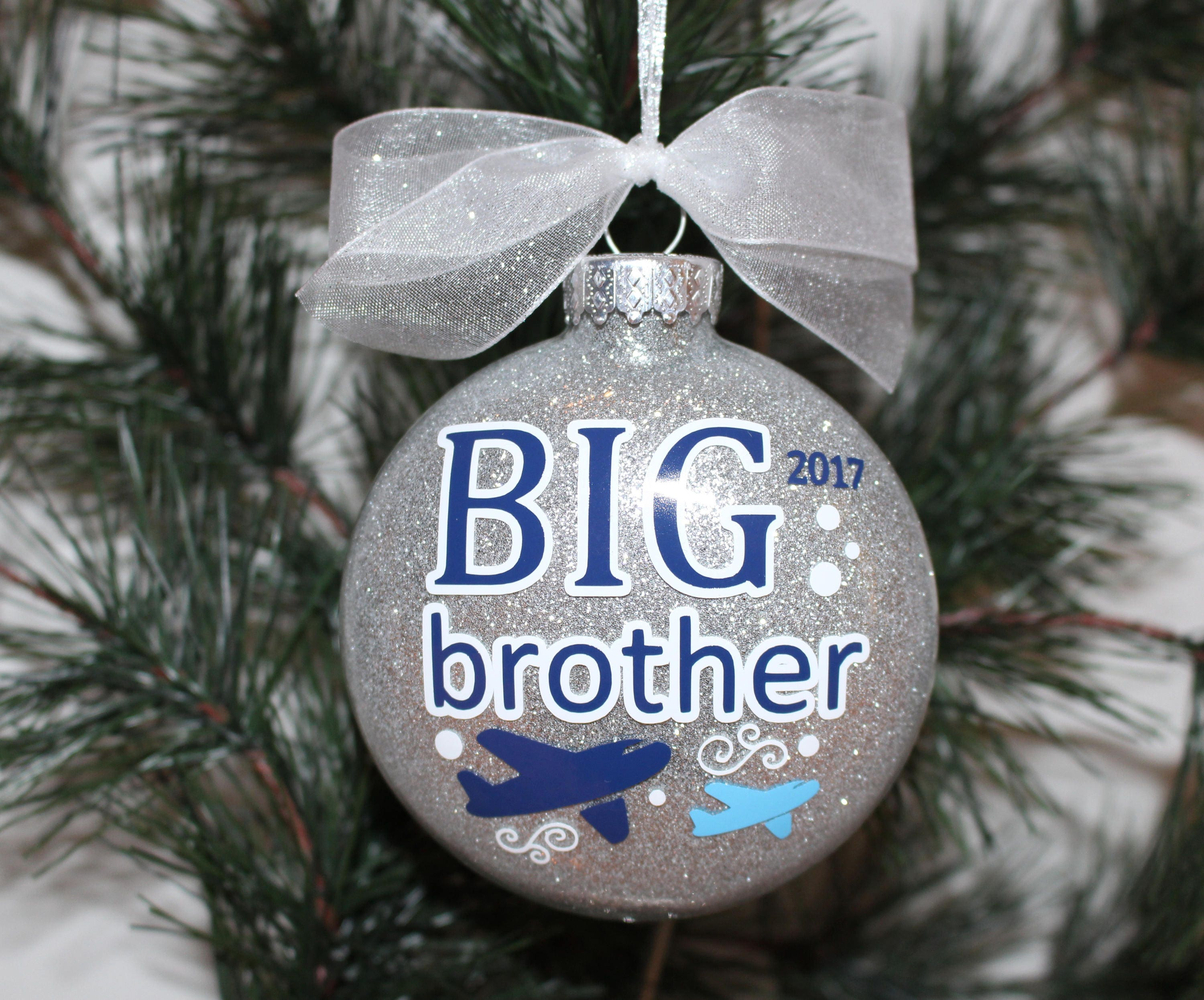Attractive Big Brother Christmas Ornament Part - 6: ?zoom