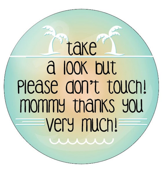 Preemie sign, newborn, baby car seat tag, baby shower gift, stroller tag, baby Preemie no touching car seat sign