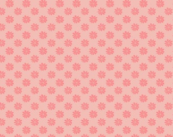 Fabric -Liberty  - The English Garden - Floral dot, pink - Quilters weight cotton