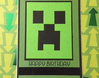 Creeper Birthday
