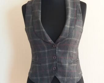 Everyday Women's Stripped Vintage Vest Small Size