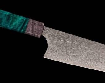 Saji LTD Edition Diamond R2 Gyuto 210mm Gorgeous go to Chef knife