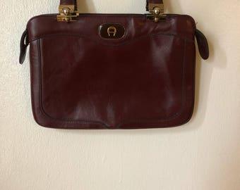 Vintage Etienne Aigner Hand Bag