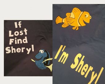 Finding Nemo Disney Couple Shirts