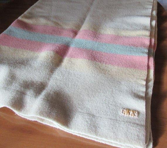 100% Pendleton Wool Blanket 63 x 80