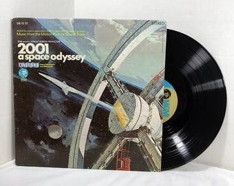 2001 A Space Odyssey Soundtrack Vinyl Record vintage LP 1968 Film Score Neo-Classical VG+