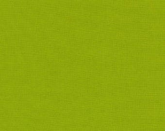 Kona Cotton in Lime - Robert Kaufman (K001-1192)