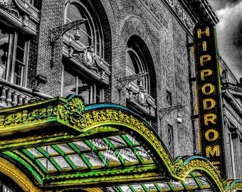 Hippodrome  5x7  matted on white  mat #1149