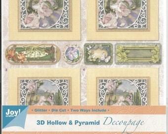 Leaf has cut out, format a5, 3d card, joy! crafts 6013/1704