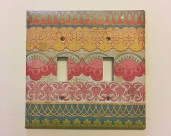 Double Light Switch Cover
