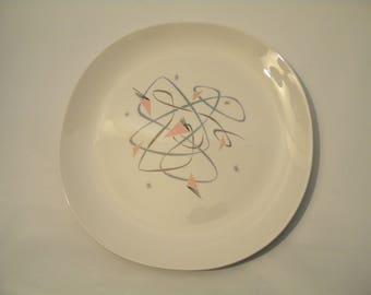 5 Dinner Plates by Kokura Ware Glencove Pattern Mid Century Modern MCM
