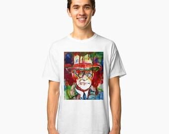 SIGMUND FREUD 1 - classic T-shirt - sizes available: S M L xl 2xl 3xl