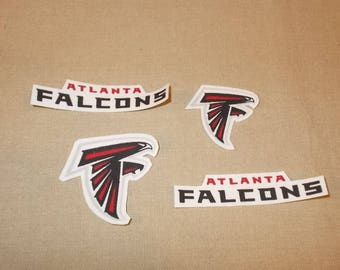 Appliques - NFL - Atlanta Falcons - Sew On or Iron On