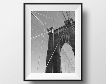 Brooklyn Bridge - Photography Print