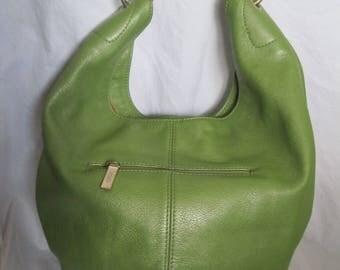 Green Leather Hobo International Hobo shoulder Bag