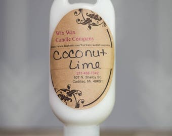 Vegan Lotion - Body Lotion - All Natural Lotion - Coconut Lime Lotion - Natural Lotion - Handmade Lotion - Hand Lotion - Hand Cream - Lotion