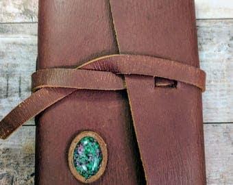 Genuine Leather Travel Journal
