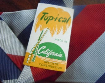 Nice 1940-50s Diagonal Tie (Deadstock Unworn)