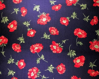 Fabric with flowers.  Wild flowers