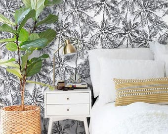 The 25  best Palm leaf wallpaper ideas on Pinterest | Tropical ...