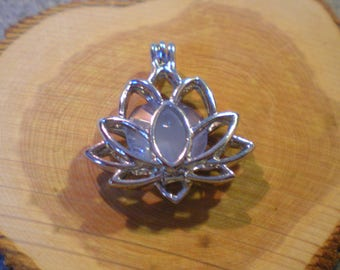 A beautiful light sterling silver LOTUS flower