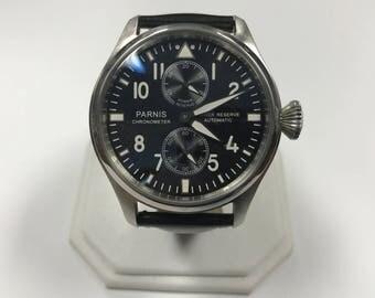 d242 Original Chronometer Skeleton Back Power Reserve Automatic Wrist Watch