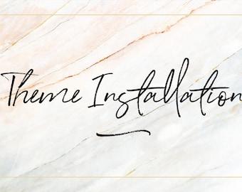 Theme Installation for Blogger - Blogspot Template Installation / Wordpress Installation