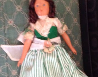 Vintage Celluloid Doll Provencial