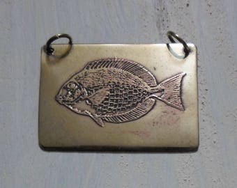 """fish"" pendant"
