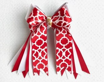 Horse Show Hair Bows/beautiful Valentines Day gift/Ready2Mail with clips