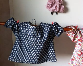 beautiful blouse, tunic or shirt baby or child 18-24 months