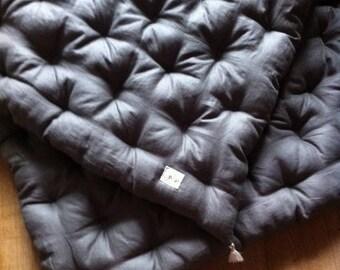 futon XL-Japanese Topper - carpet play or NAP for kids - custom