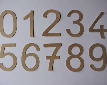 Numbers rough stick
