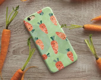 Carrot iPhone case, iPhone 8, iPhone 8 Plus, iPhone 7, iPhone 7 Plus, iPhone 6S case, iPhone 6S Plus case, iPhone X case, iPhone SE case