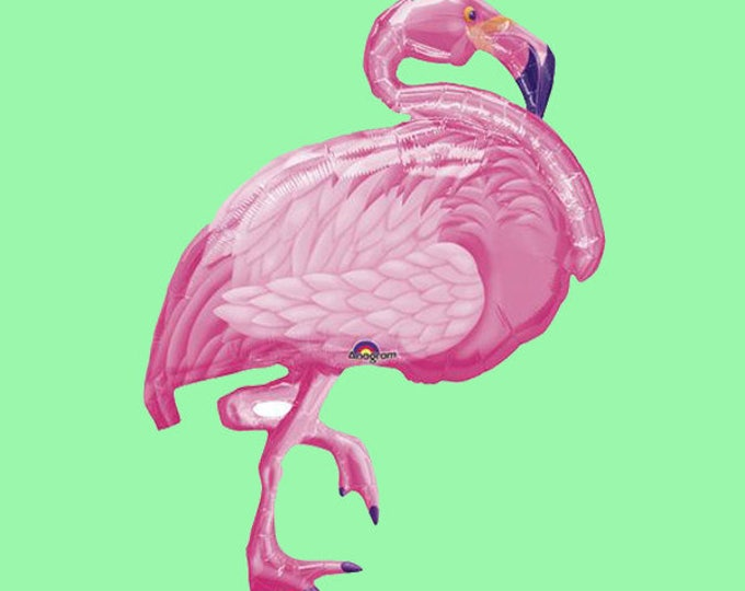 Flamingo Balloon, SALE Lets Flamingle Balloon Party HUGE Flamingo Balloon For A Birthday or Summer Pool Party,  Summer Party Ideas
