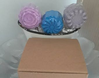 Moon Cake Bath Bombs - Set of 3