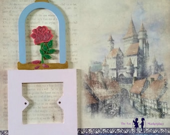 Enchanted Rose Fairy-tale Light switch surround