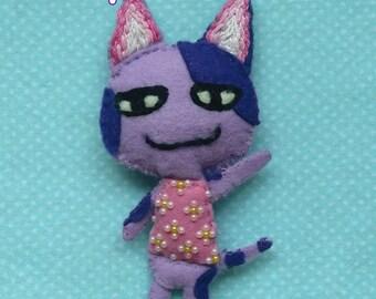 Hand Stitched Bob Animal Crossing Plush