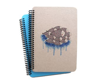 Fish Series Spiral Notebook 3