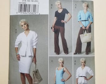 Vogue Pattern Size 14-20  #V8718